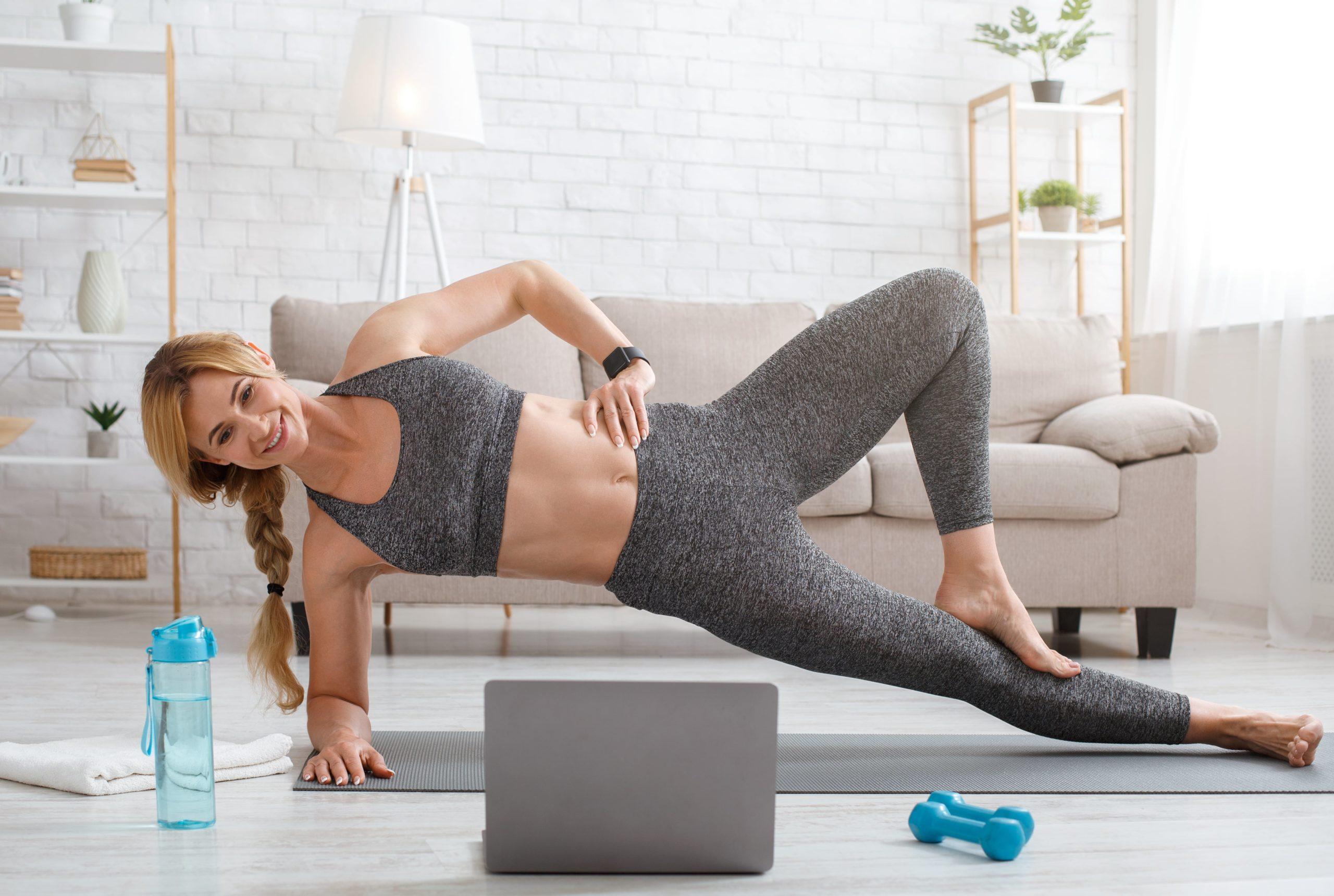 комплексные упражнения для похудения в домашних