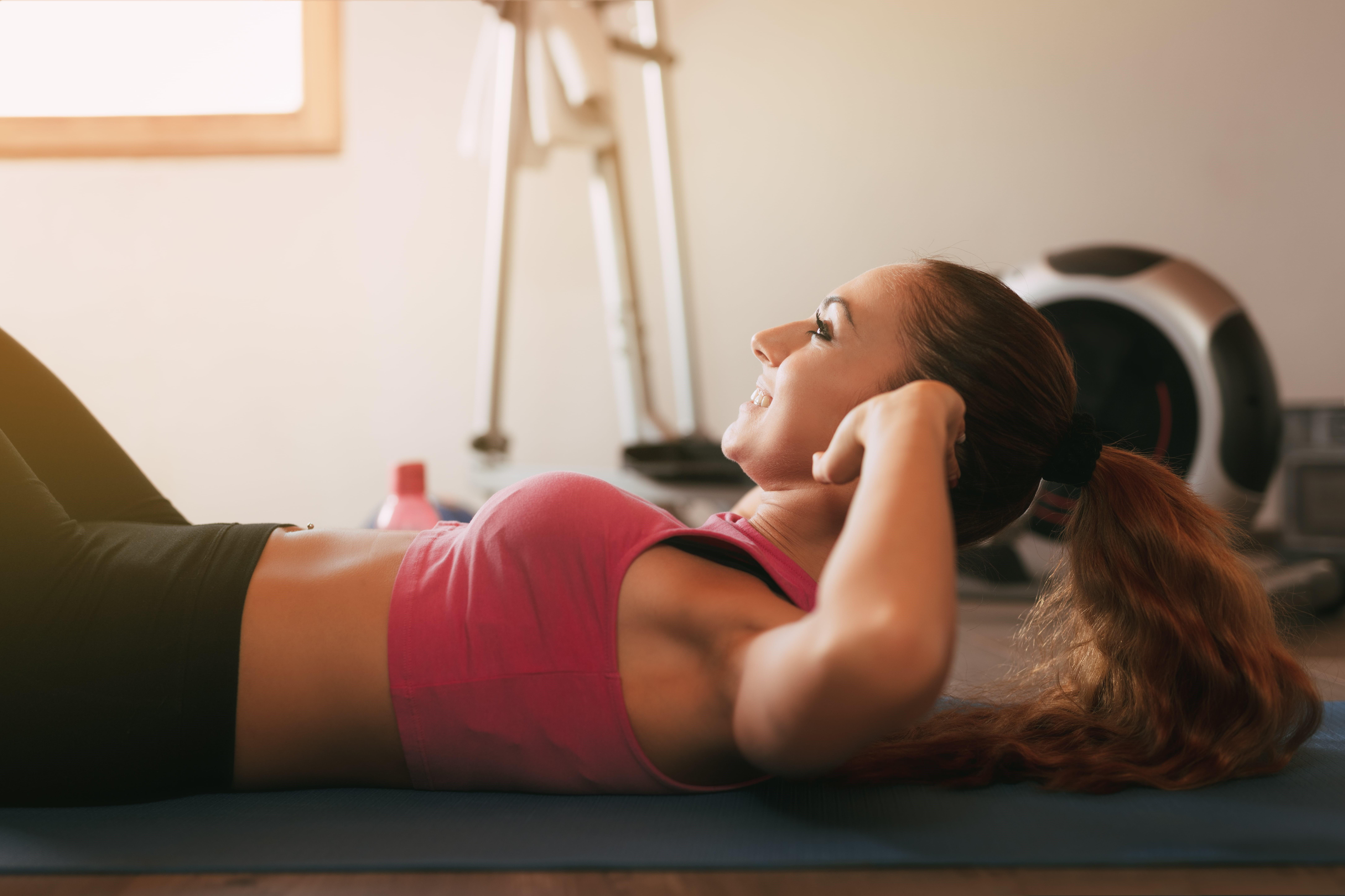 Упражнения для похудения. Фитнес тренировка для похудения в домашних условиях