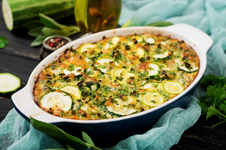 ПП рецепты из кабачков. Полезное блюдо для правильного питания из кабачков в духовке