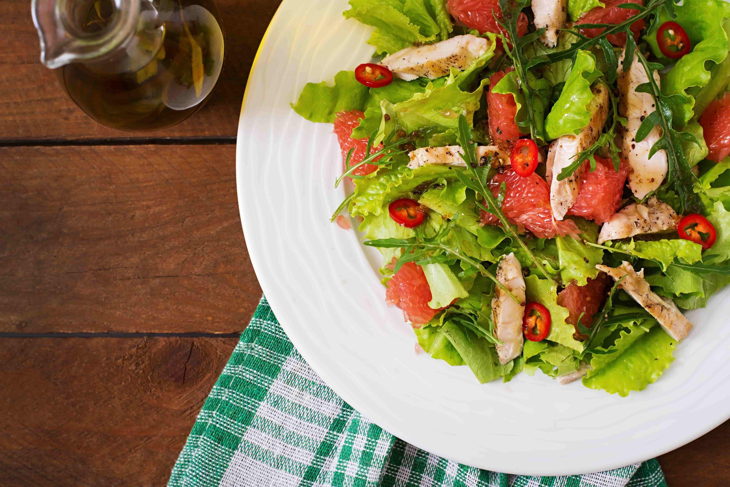 питание для похудения обед