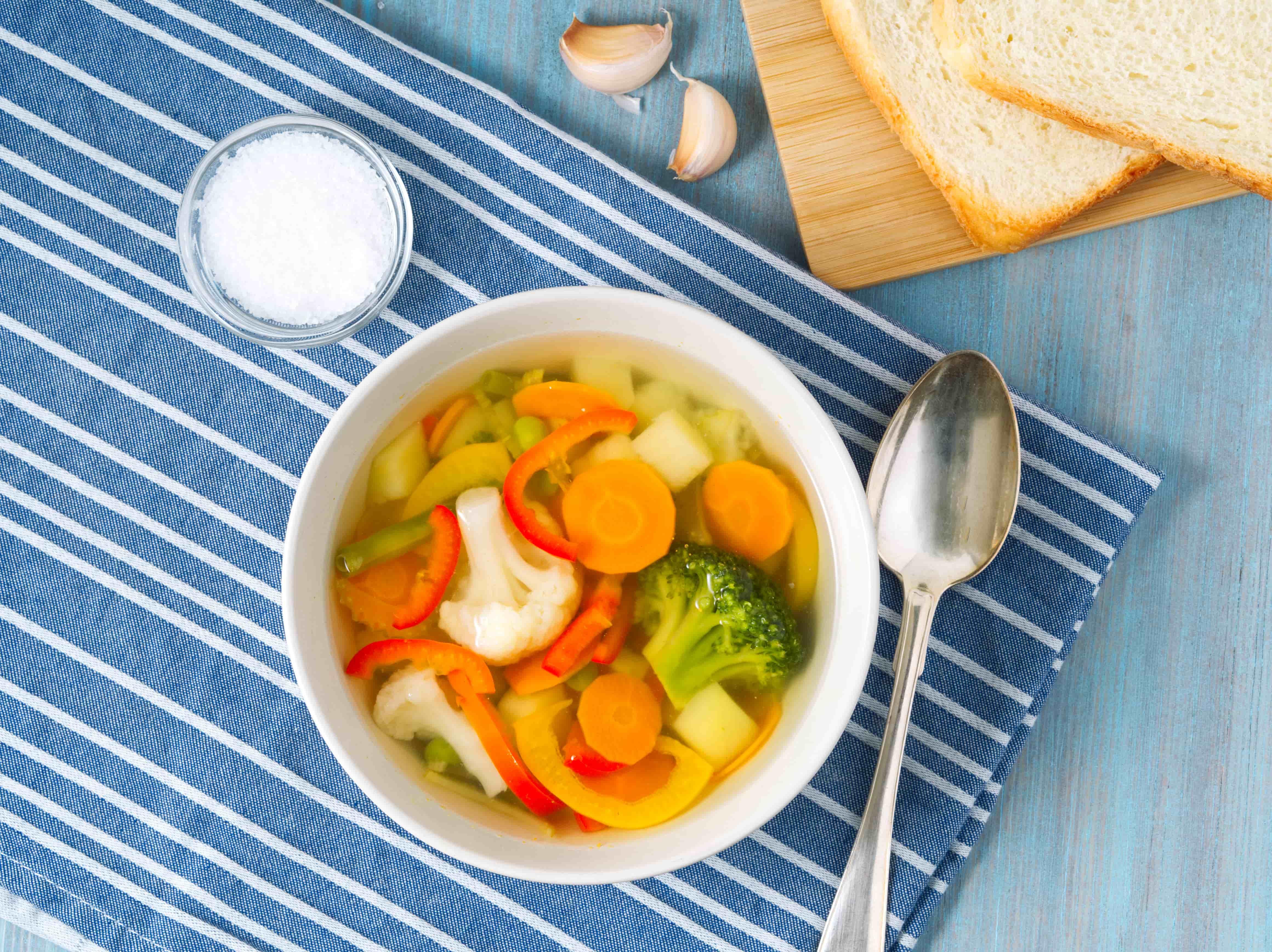 Диетический суп из цветной капусты - рецепт с пошаговым приготовлением и фото