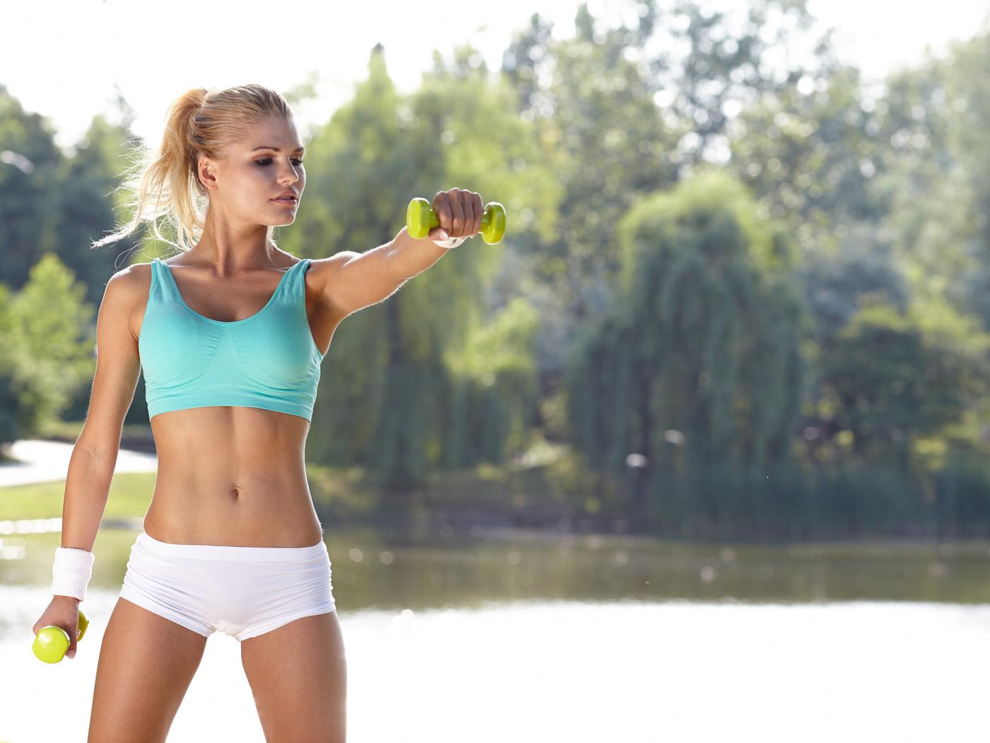 Упражнения против брылей