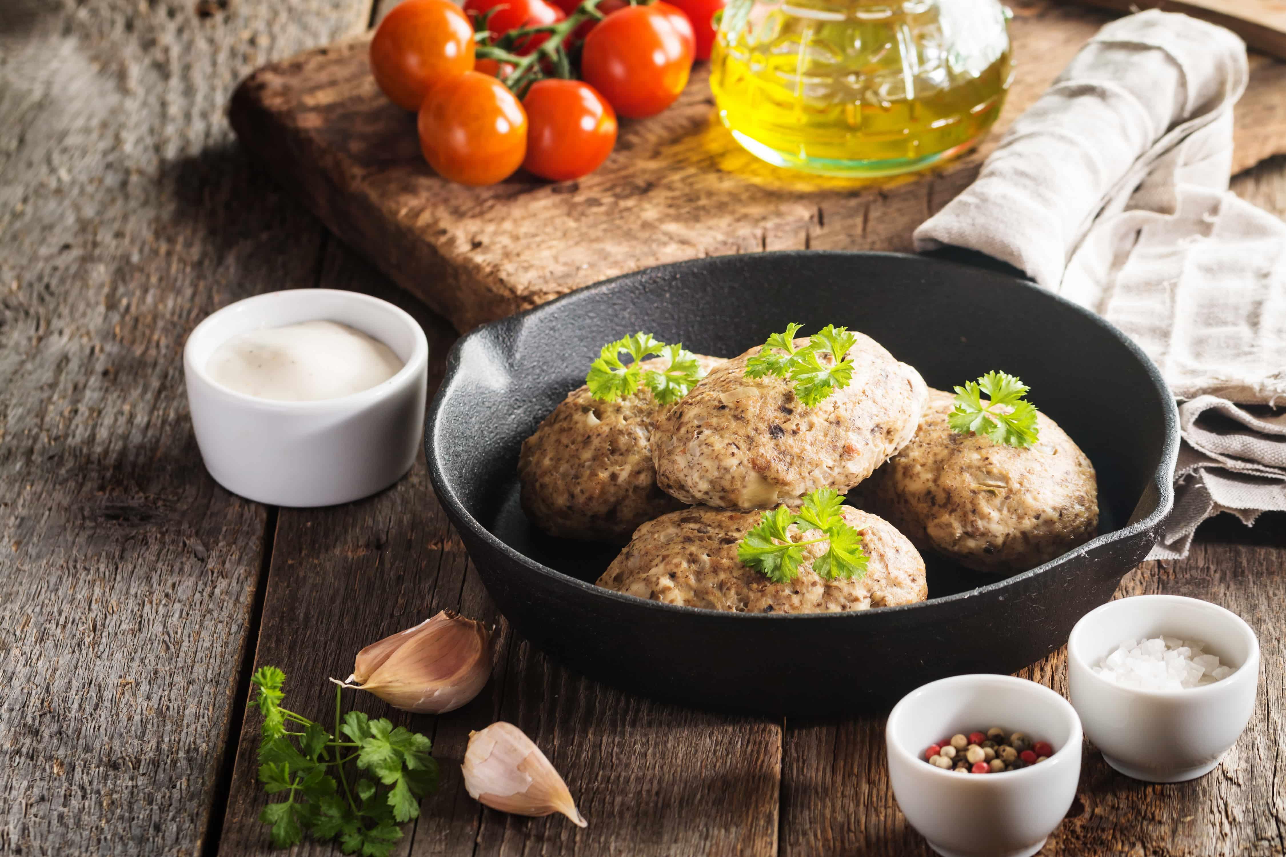 Диетические куриные котлеты - рецепт с пошаговым приготовлением