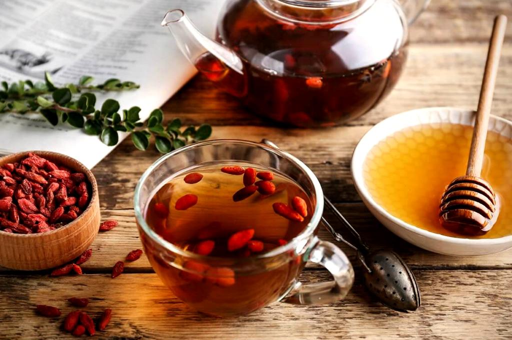 Чай для похудения из годжи