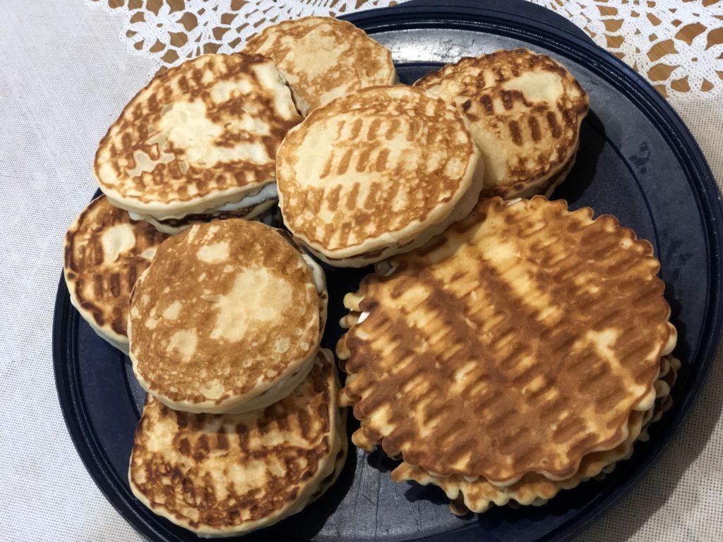 Творожные венские вафли с нежным ванильным кремом