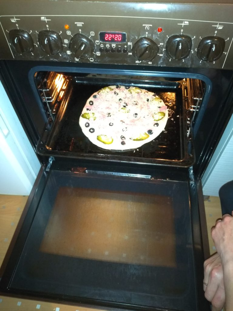 Пицца «Точеная фигурка»